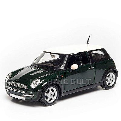 Miniatura Mini Cooper Verde - Maisto 1:24
