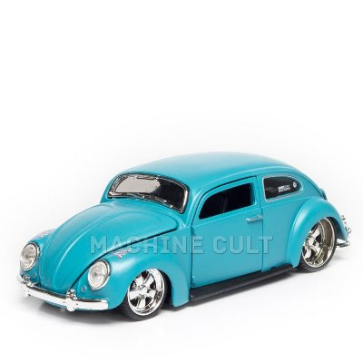 Miniatura Fusca Customizado - Azul - All Stars Maisto - 1:24