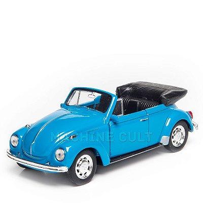 Miniatura Fusca Conversível Volkswagen - 1:34 Welly