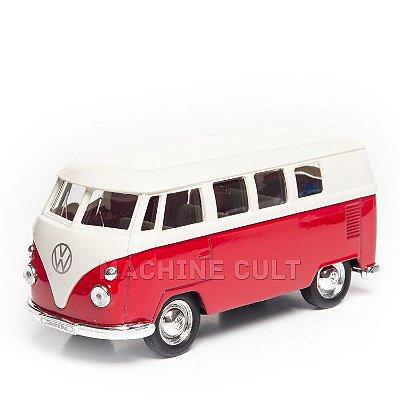 Miniatura Perua Kombi 1963 Volkswagen - 1:34 Welly