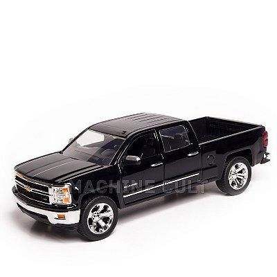 Miniatura 2014 Chevrolet Silverado - Preta - Jada 1:24