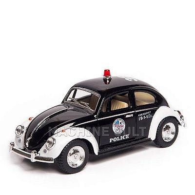 Miniatura Fusca 1967 Polícia - 1:32