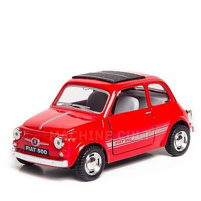 Miniatura Fiat 500 - Vermelho - 1:24