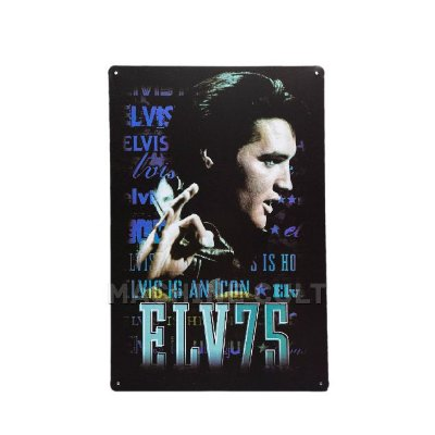 Placa Decorativa Elvis Presley