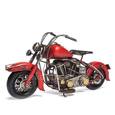 Miniatura Moto V2 - Vermelha