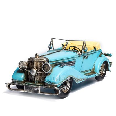 Miniatura Mercedes-Benz 500 Special Roadster - Azul