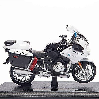 Miniatura Moto Police - BMW R 1200 RT - Maisto 1:18