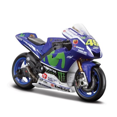 Miniatura Yamaha Movistar Moto GP 2015 - Valentino Rossi - Maisto 1:18