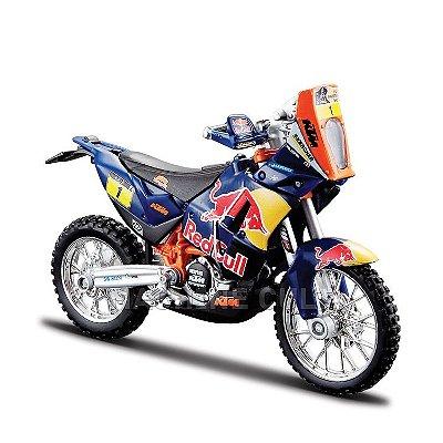 Miniatura Red Bull KTM 450 Rally Dakar - Burago 1:18