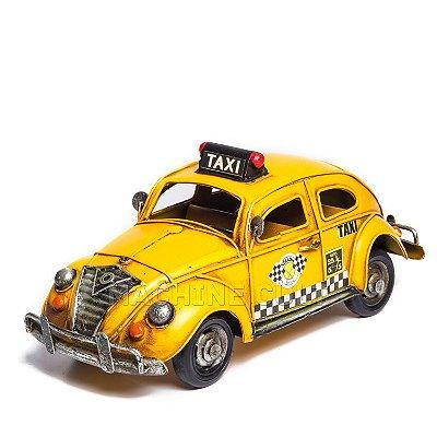 Miniatura Fusca Taxi
