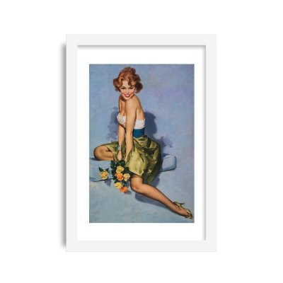 Quadro Pin-Up Vintage M3