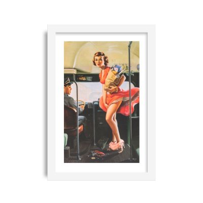 Quadro Pin-Up Vintage M5