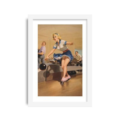 Quadro Pin-Up Vintage M6