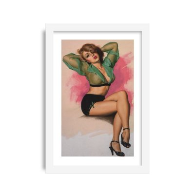 Quadro Pin-Up Vintage M9