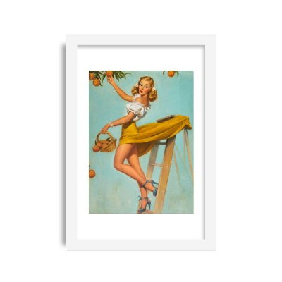 Quadro Pin-Up Vintage M15