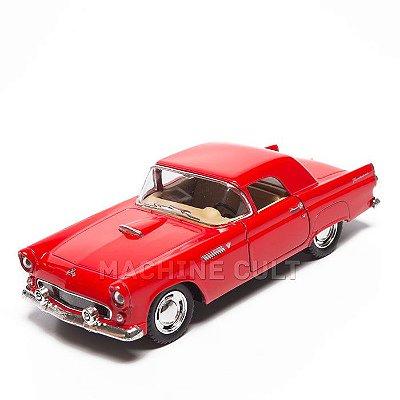 Miniatura Ford Thunderbird 1955 - Vermelho - 1:36