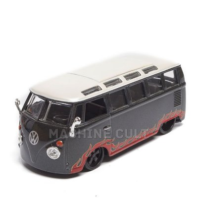 Miniatura Perua Kombi Customizada - All Stars Maisto - 1:25
