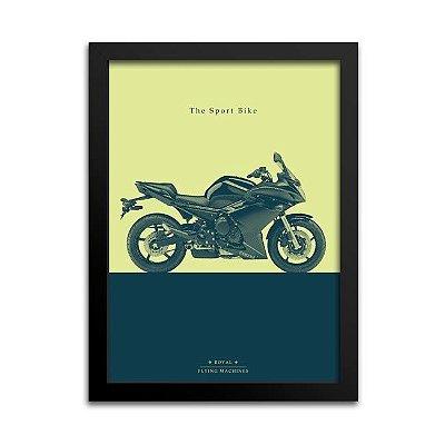 Pôster Moto Esportiva