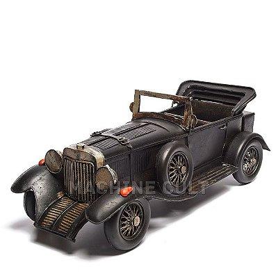 Miniatura Carro Conversível Preto
