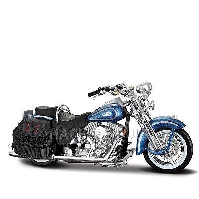 Miniatura Harley-Davidson 1999 Heritage Springer - Maisto 1:18