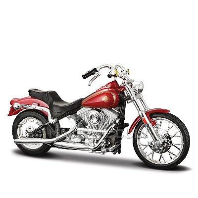 Miniatura Harley-Davidson 1984 Softail - Maisto 1:18