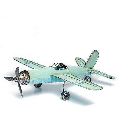 Miniatura Avião Azul