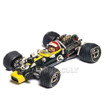 Miniatura Carro e Piloto F1