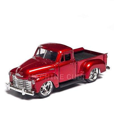 Miniatura Chevy Pick-Up 1953 Vermelho - Jada 1:32