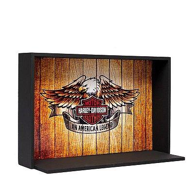 Expositor de Miniaturas Harley-Davidson 20x30cm - MD11