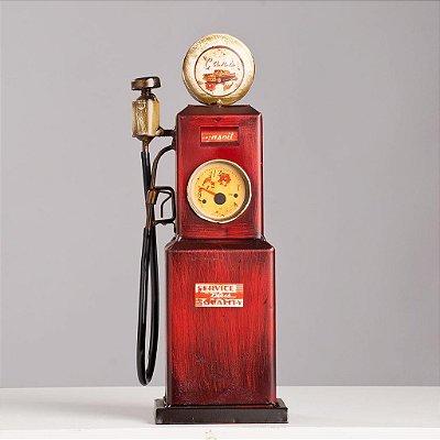 Miniatura Bomba Gasolina - Vermelha