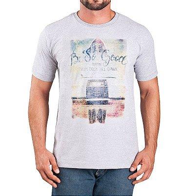 Camiseta Perua Kombi Cinza