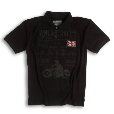Camiseta Masculina Polo - Vintage Races
