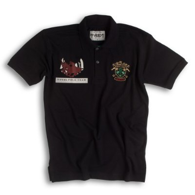 Camiseta Masculina Polo - Royal Team