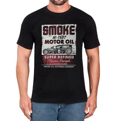 Camiseta Masculina Hot Rod