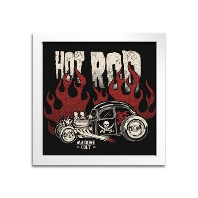 Quadro Decorativo Hot Rod