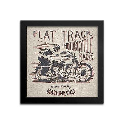 Quadro Motociclismo – Flat Track