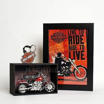 Kit Miniatura Harley-Davidson com Expositor - 27