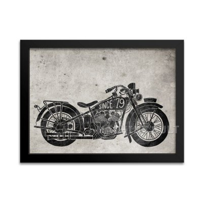 Pôster Moto Antiga