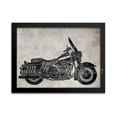Pôster Harley-Davidson Decorativo
