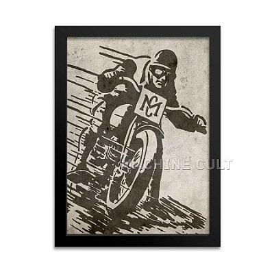Pôster Motocicleta Antiga