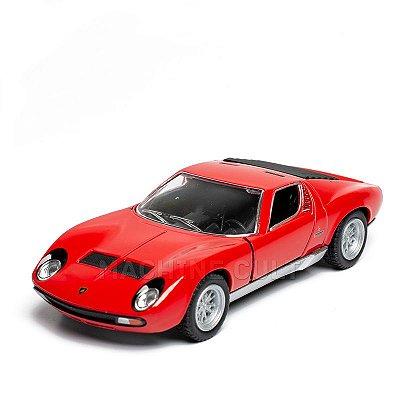 Miniatura Lamborghini Miura P400 SV 1971 - 1:34