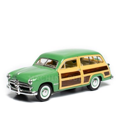 Miniatura Ford Woody Wagon 1949 Verde - 1:40