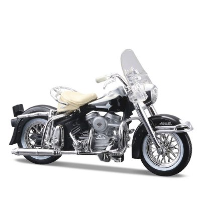 Miniatura Harley-Davidson 1962 FLH Duo Glide - Maisto 1:24