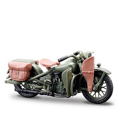 Miniatura Harley-Davidson 1942 WLA Flathead - Maisto 1:24