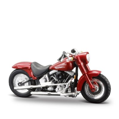 Miniatura Harley-Davidson 2000 FLSTF Street Stalker - Maisto 1:24