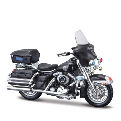Miniatura Harley-Davidson 2004 FLHTPI Electra Glide Police - Maisto 1:24