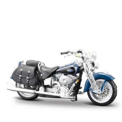 Miniatura Harley-Davidson 2001 FLSTS Heritage Springer - Maisto 1:24