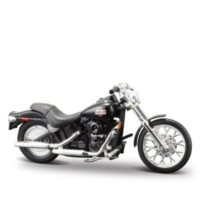 Miniatura Harley-Davidson 2002 FXSTB Night Train - Maisto 1:24
