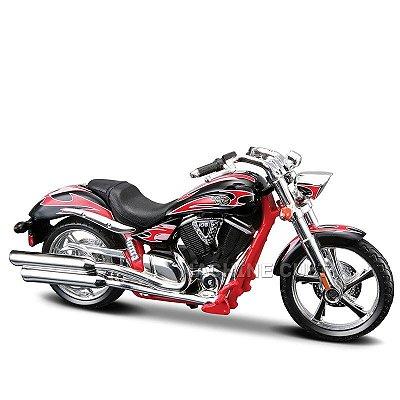Miniatura Moto Victory Vegas Jackpot Maisto 1:18