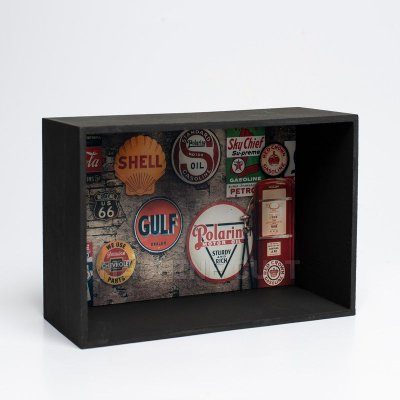 Expositor de Miniaturas Vintage 10x15cm - MD28